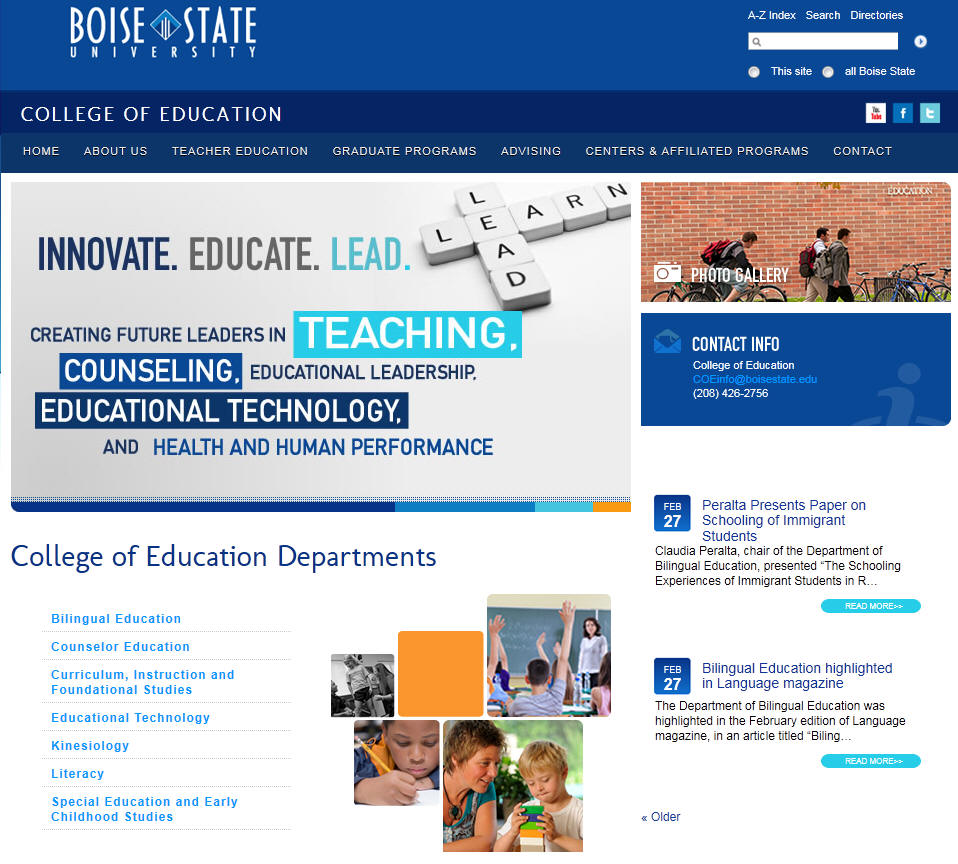 Boise State University College of Education