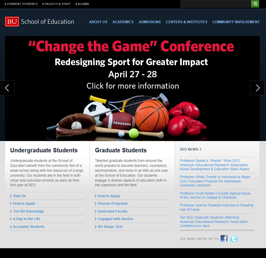 Boston University School of Education