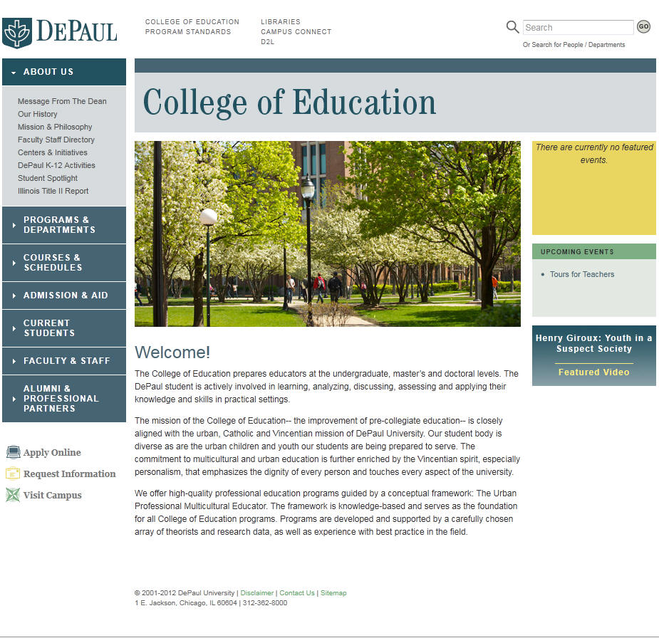 DePaul University College of Education
