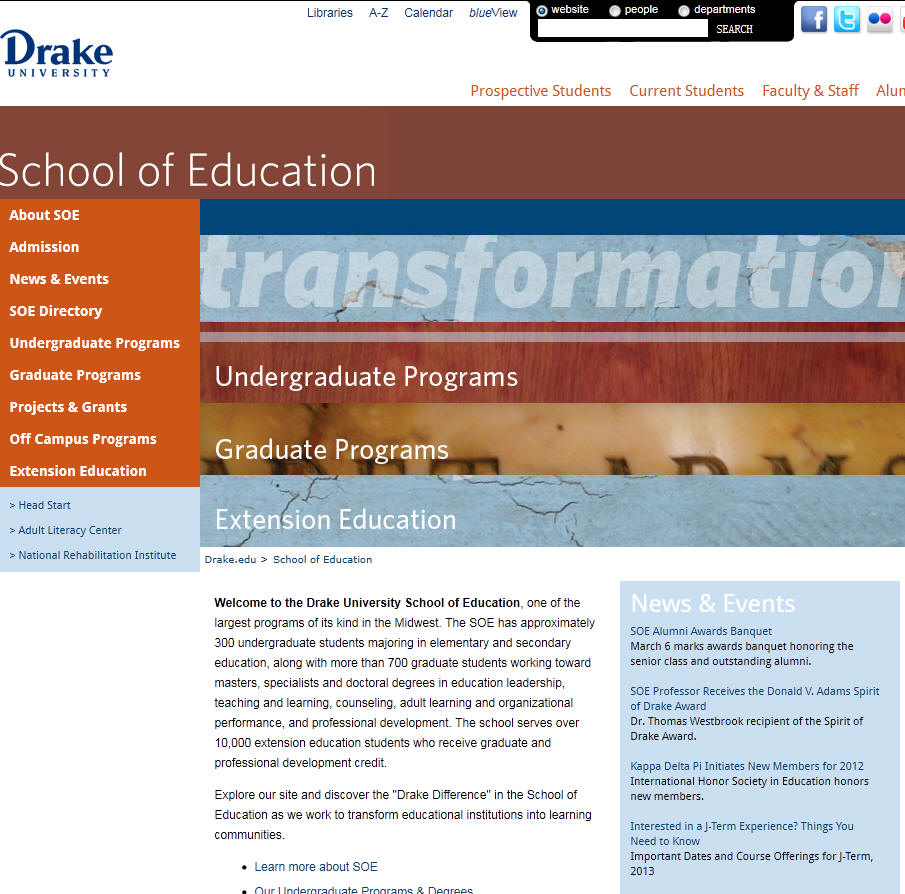 Drake University School of Education