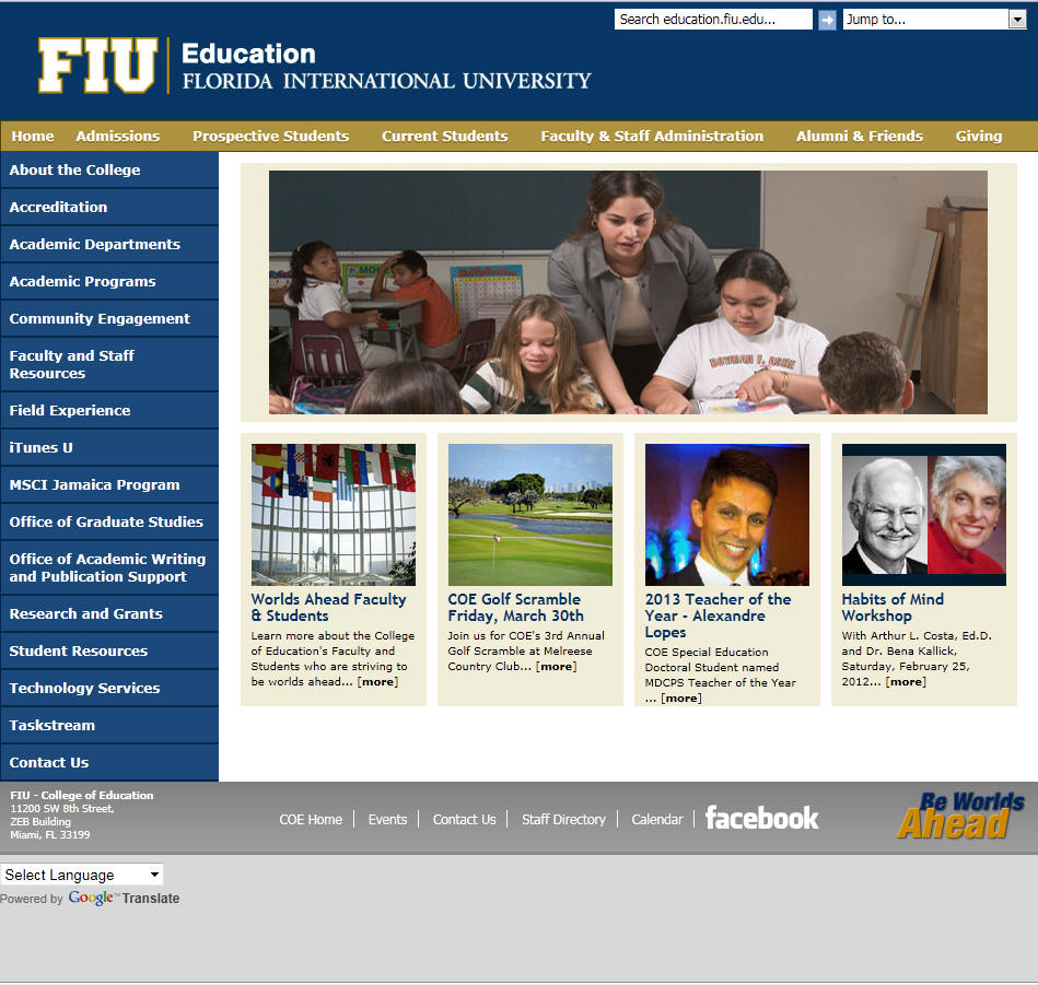 Florida International University College of Education