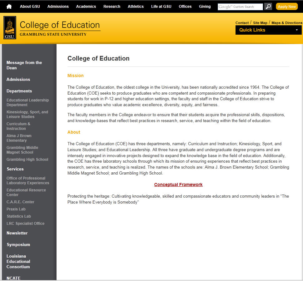 Grambling State University College of Education