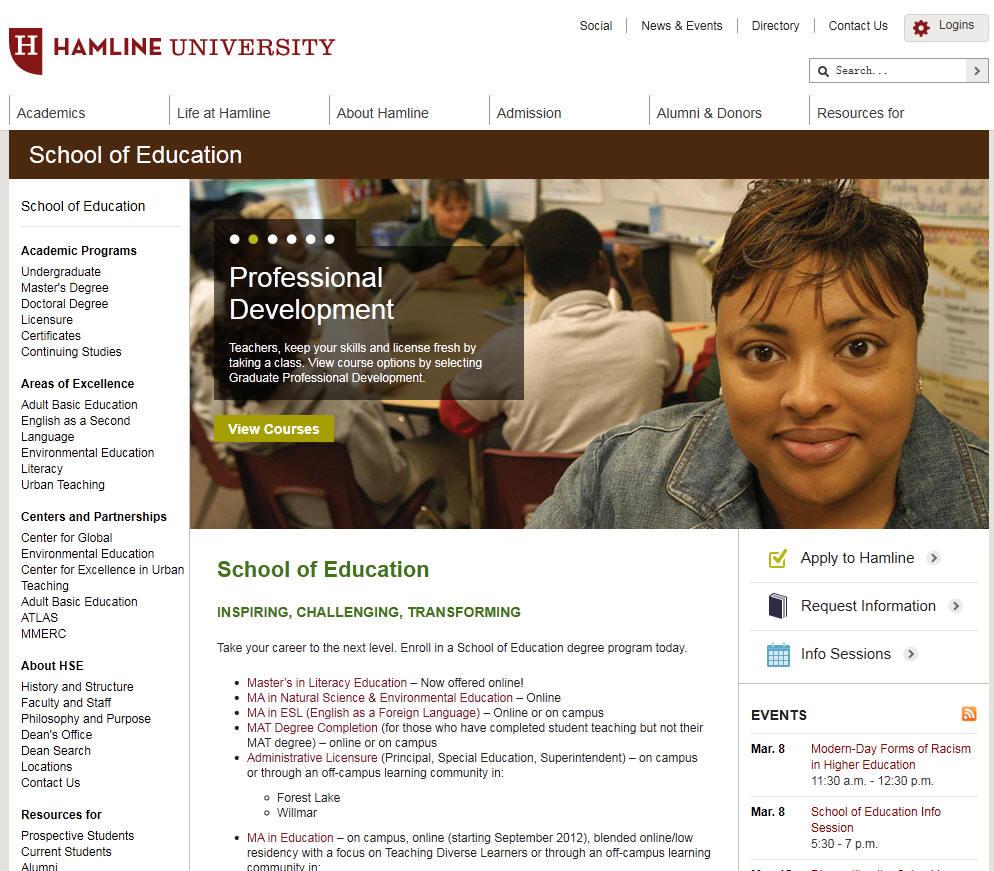 Hamline University School of Education