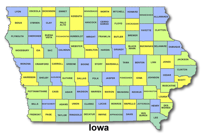 High School Codes in Iowa