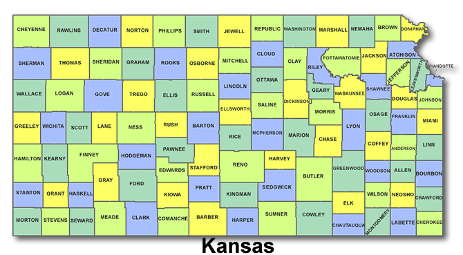 High School Codes in Kansas