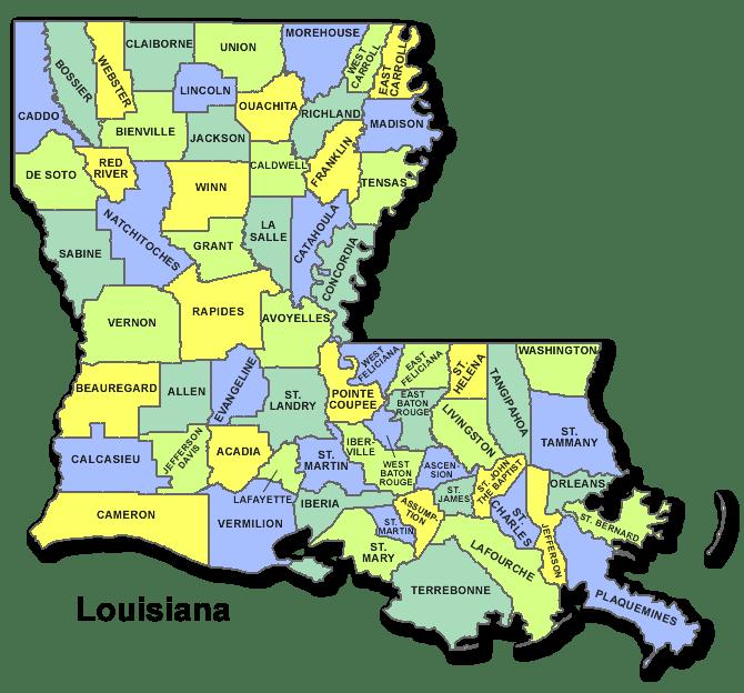 High School Codes in Louisiana