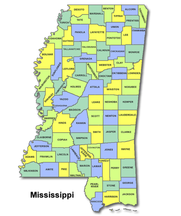 High School Codes in Mississippi