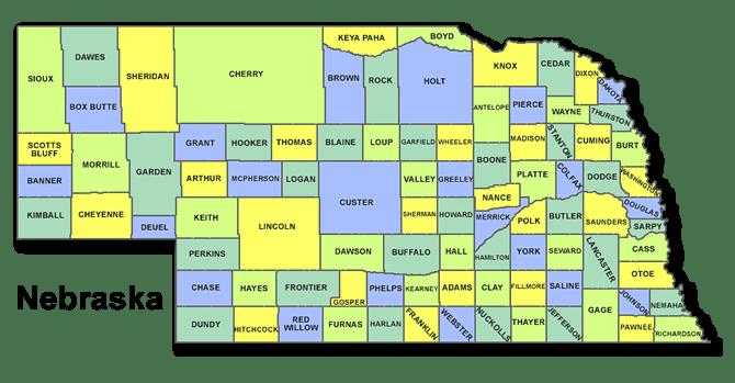 High School Codes in Nebraska