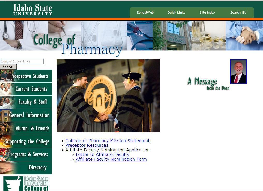 Idaho State University College of Pharmacy