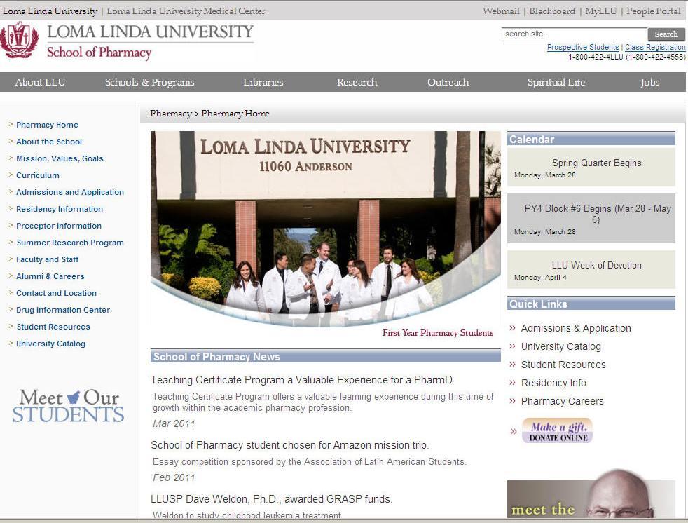 Loma Linda University School of Pharmacy