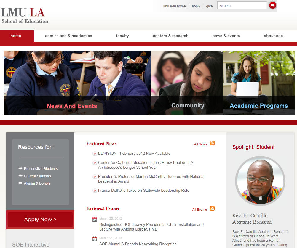 Loyola Marymount University School of Education