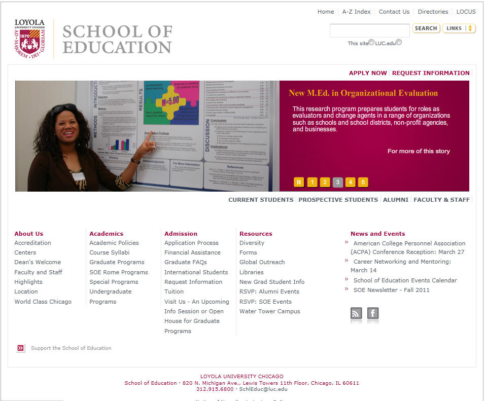 Loyola University Chicago School of Education