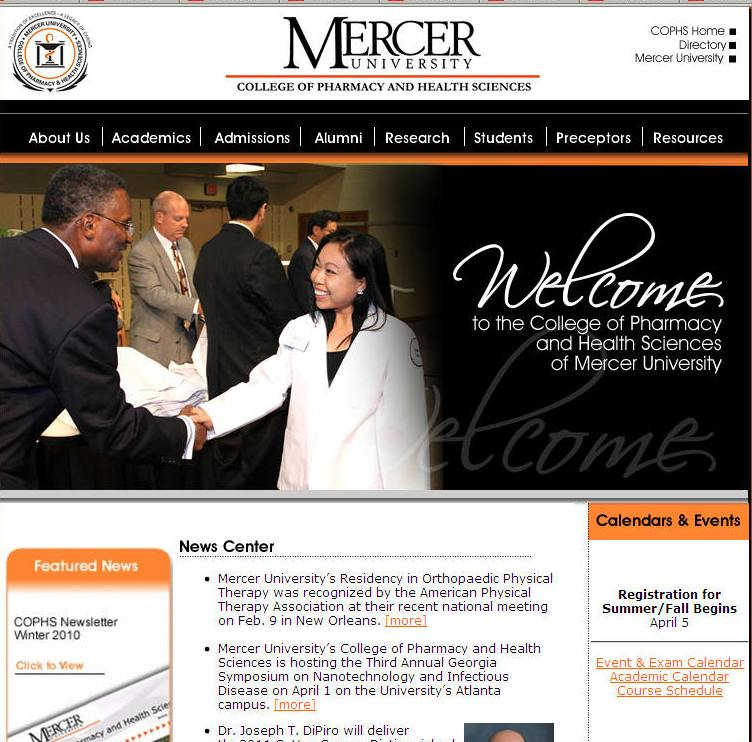 Mercer University College of Pharmacy and Health Sciences
