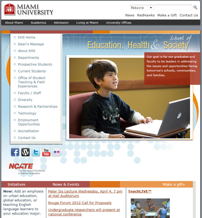 Miami University School of Education Health Society