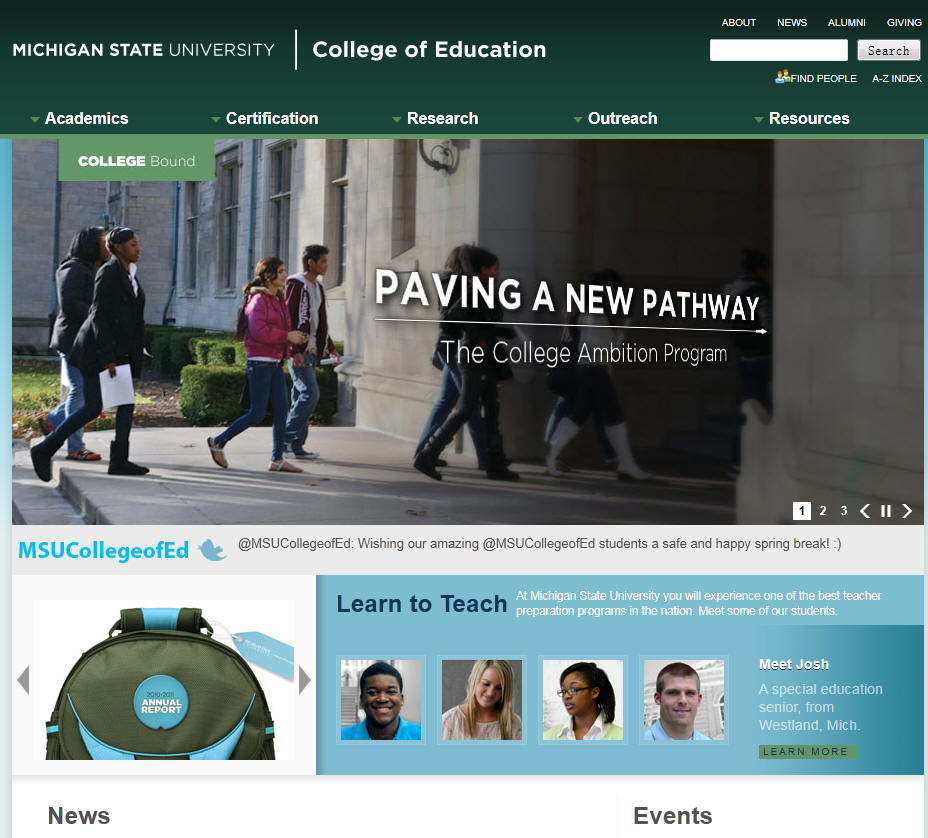 Michigan State University College of Education