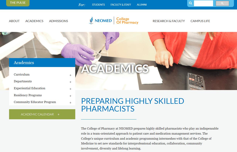Northeast Ohio Medical University College of Pharmacy