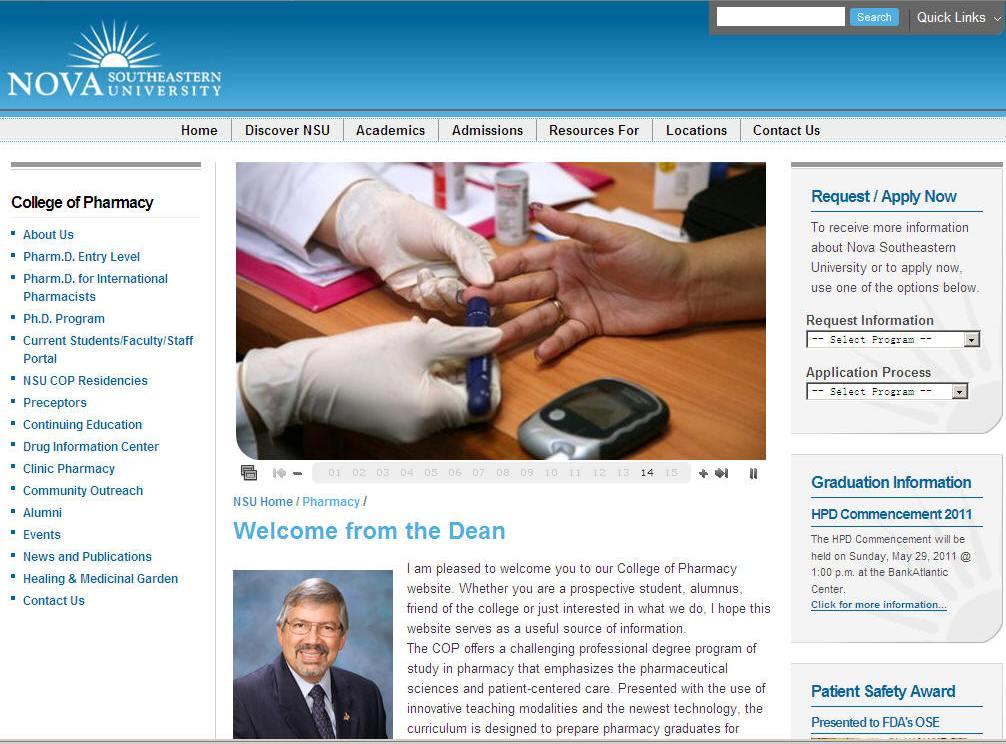 Nova Southeastern University College of Pharmacy