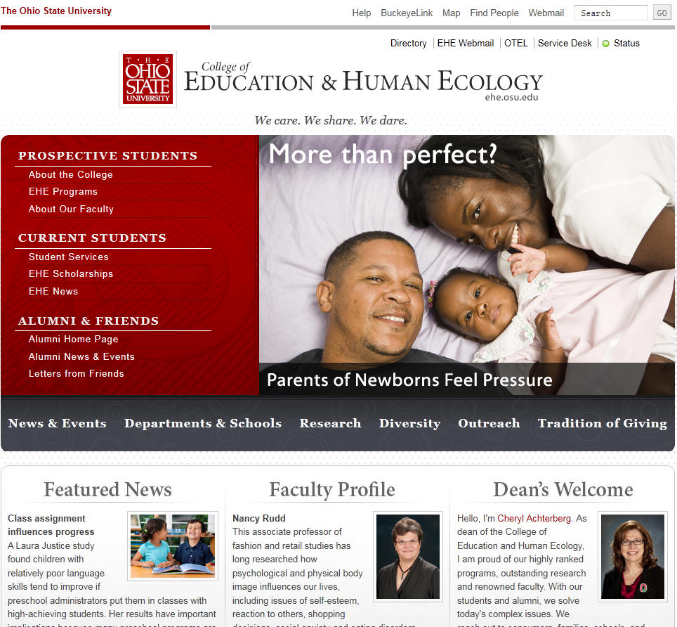 Ohio State University College of Education and Human Ecology