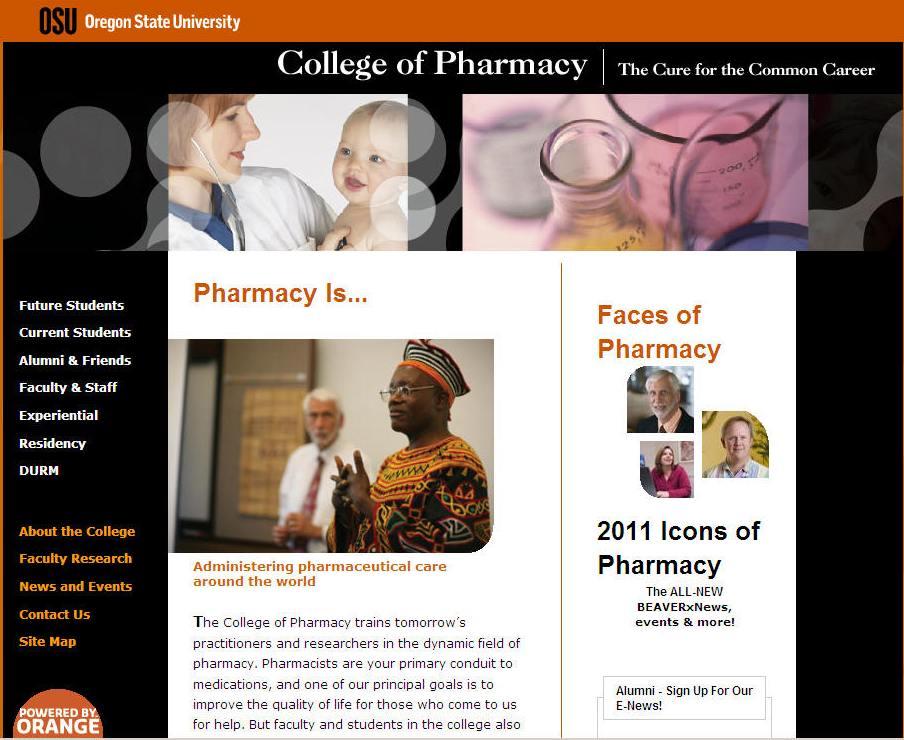 Oregon State University College of Pharmacy