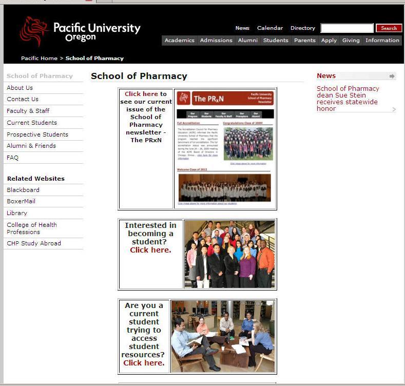 Pacific University School of Pharmacy