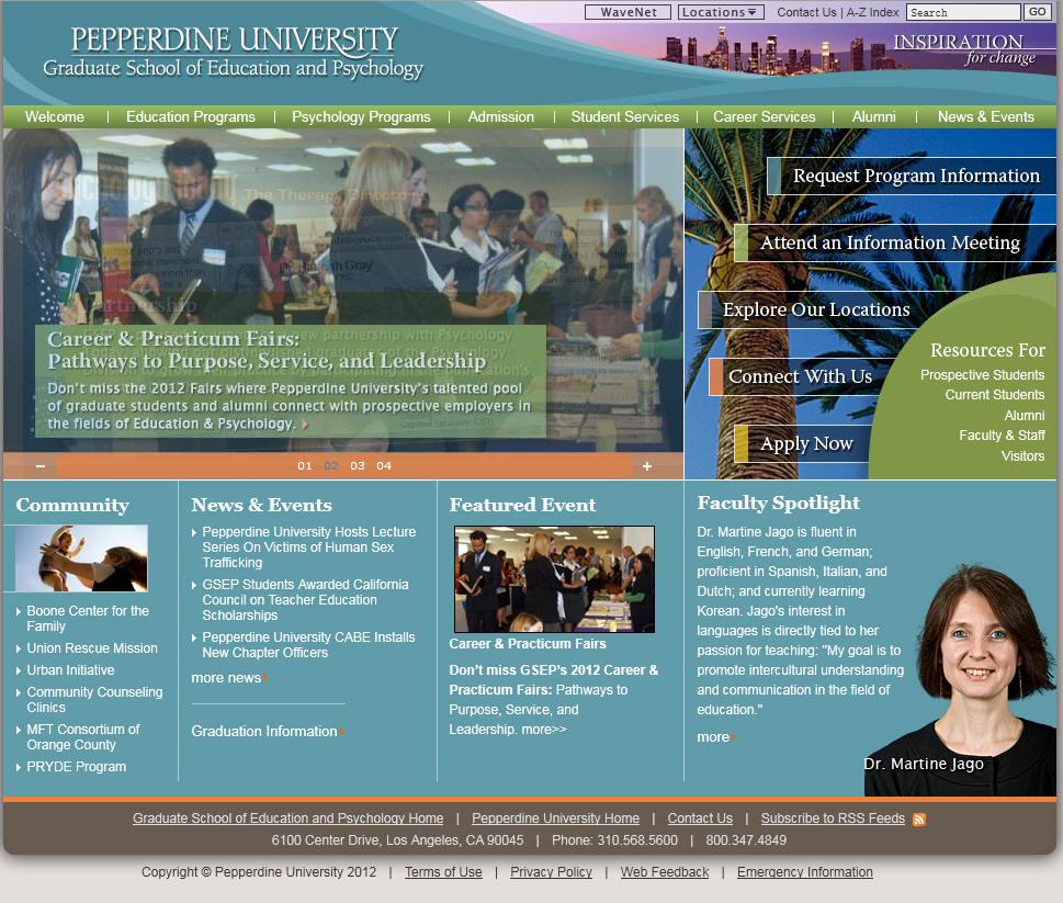 Pepperdine University Graduate School of Education and Psychology