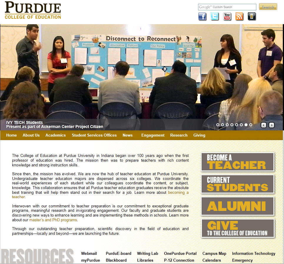 Purdue University West Lafayette College of Education