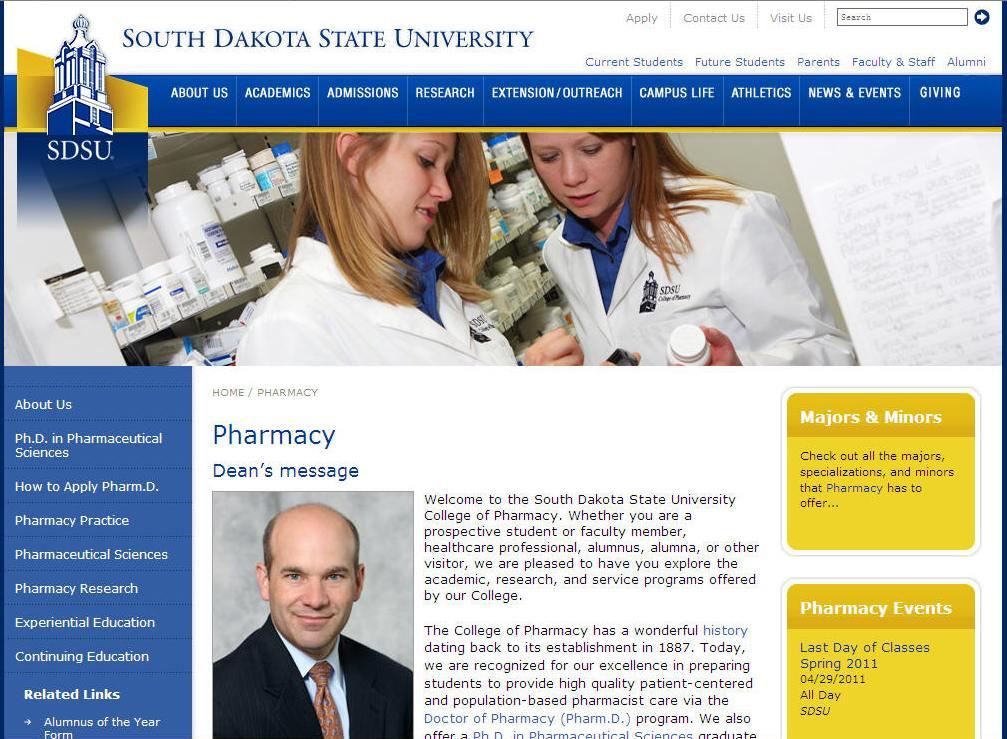 South Dakota State University College of Pharmacy