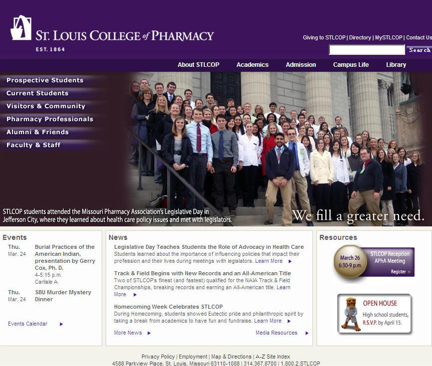 St Louis College of Pharmacy