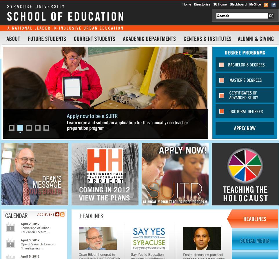 Syracuse University School of Education