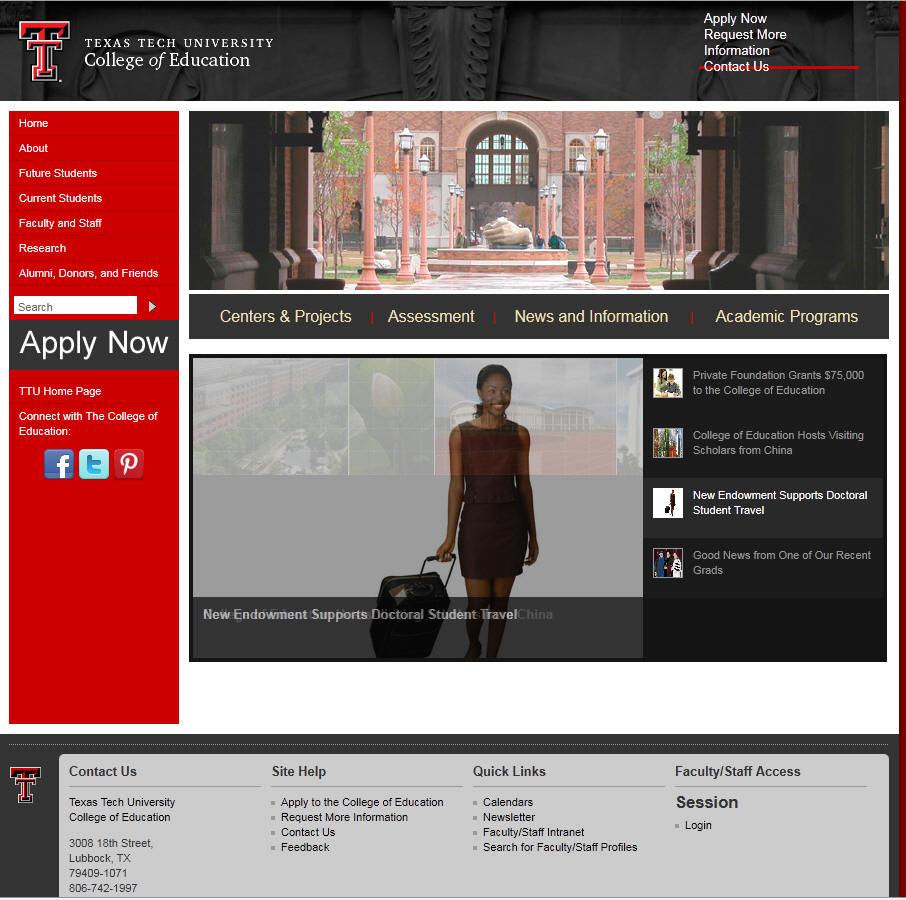 Texas Tech University College of Education