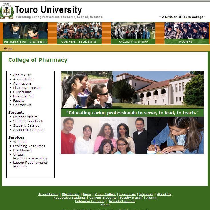 Touro University College of Pharmacy