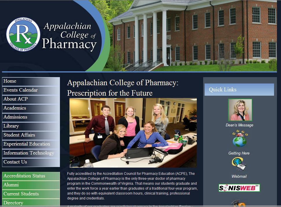University of Appalachia College of Pharmacy