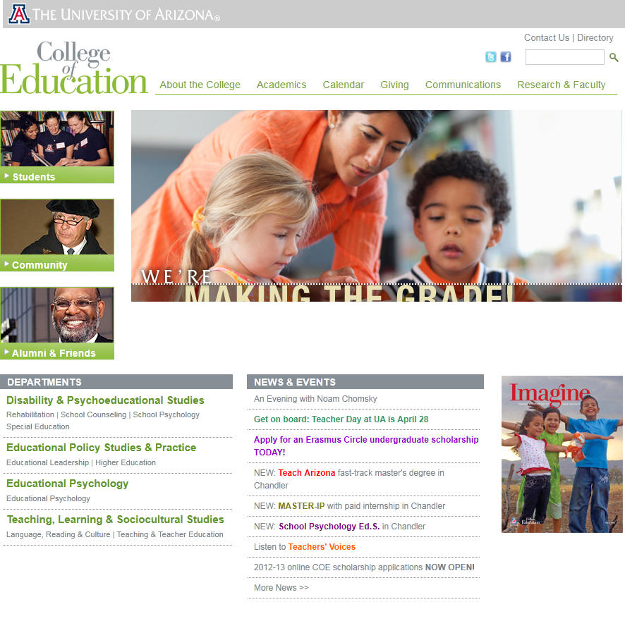 University of Arizona College of Education