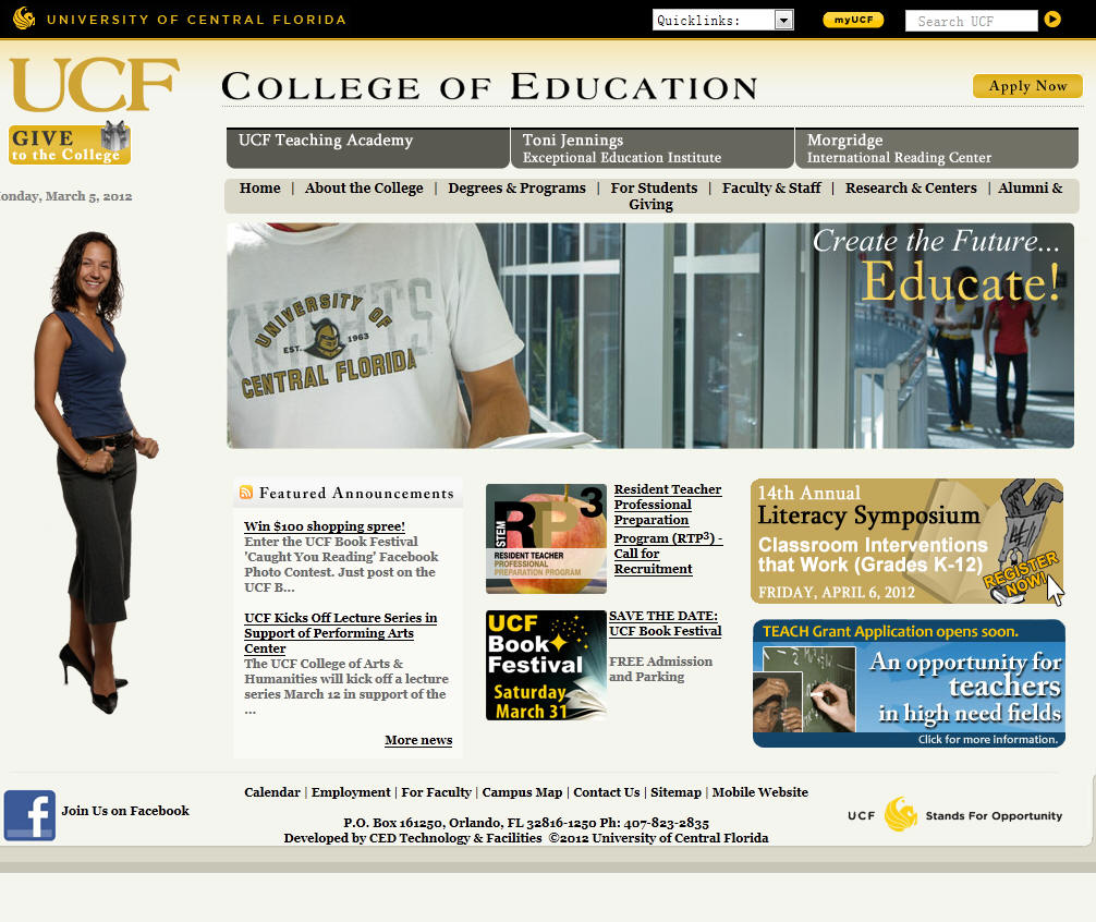 University of Central Florida College of Education