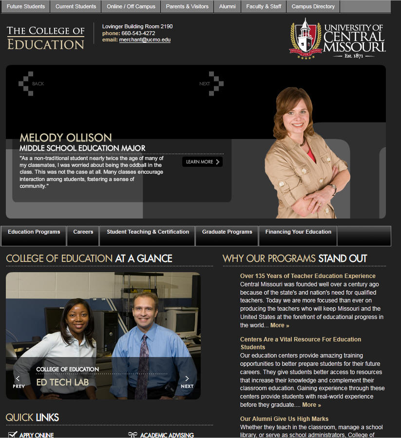 University of Central Missouri College of Education