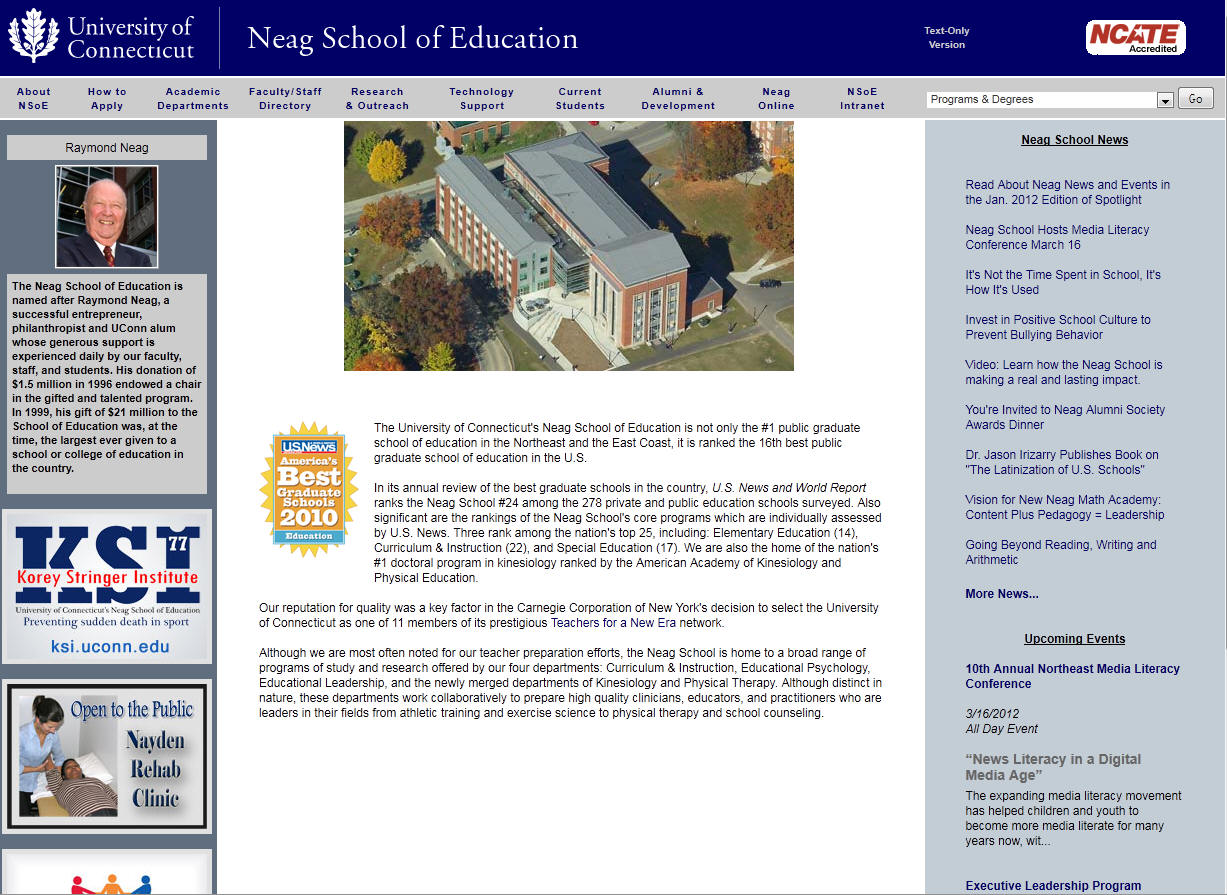 University of Connecticut Neag School of Education