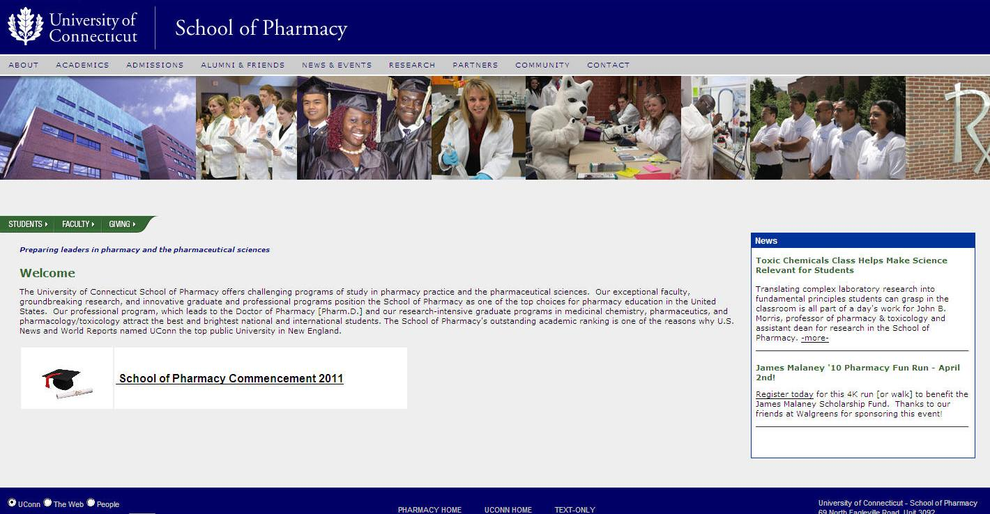 University of Connecticut School of Pharmacy
