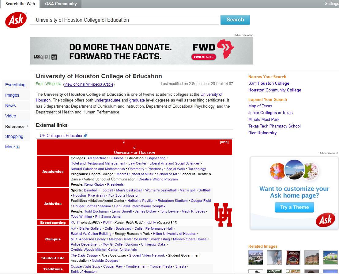 University of Houston College of Education