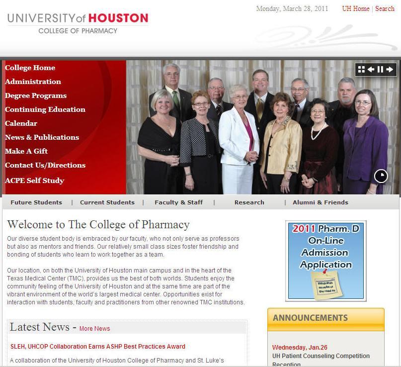 University of Houston College of Pharmacy