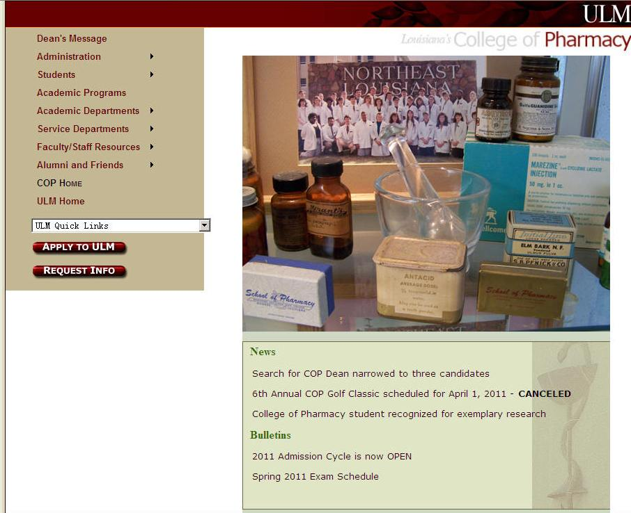 University of Louisiana-Monroe College of Pharmacy