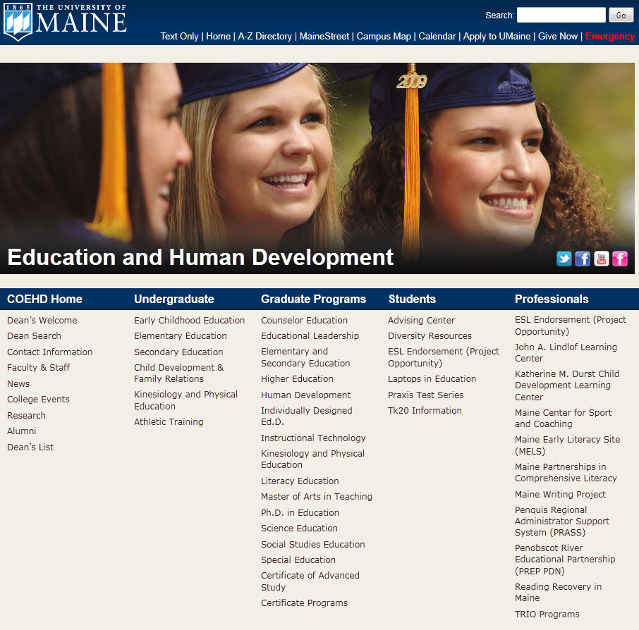 University of Maine College of Education and Human Development