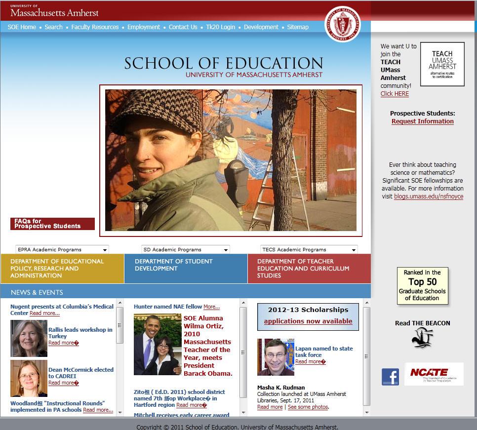 University of Massachusetts Amherst School of Education