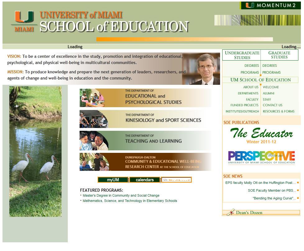 University of Miami School of Education