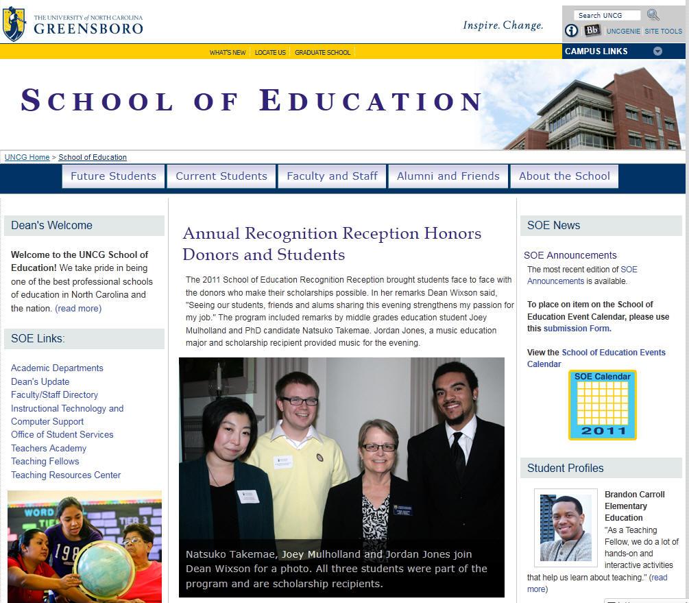 University of North Carolina Greensboro School of Education