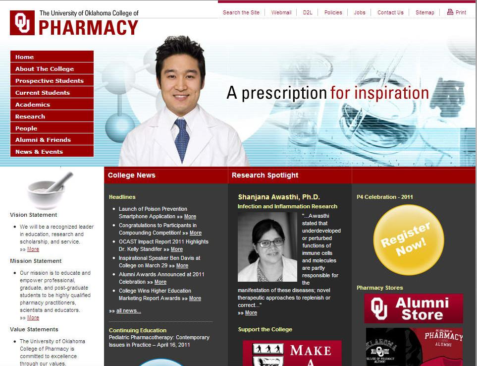 University of Oklahoma College of Pharmacy