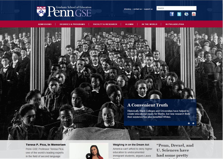 University of Pennsylvania Graduate School of Education