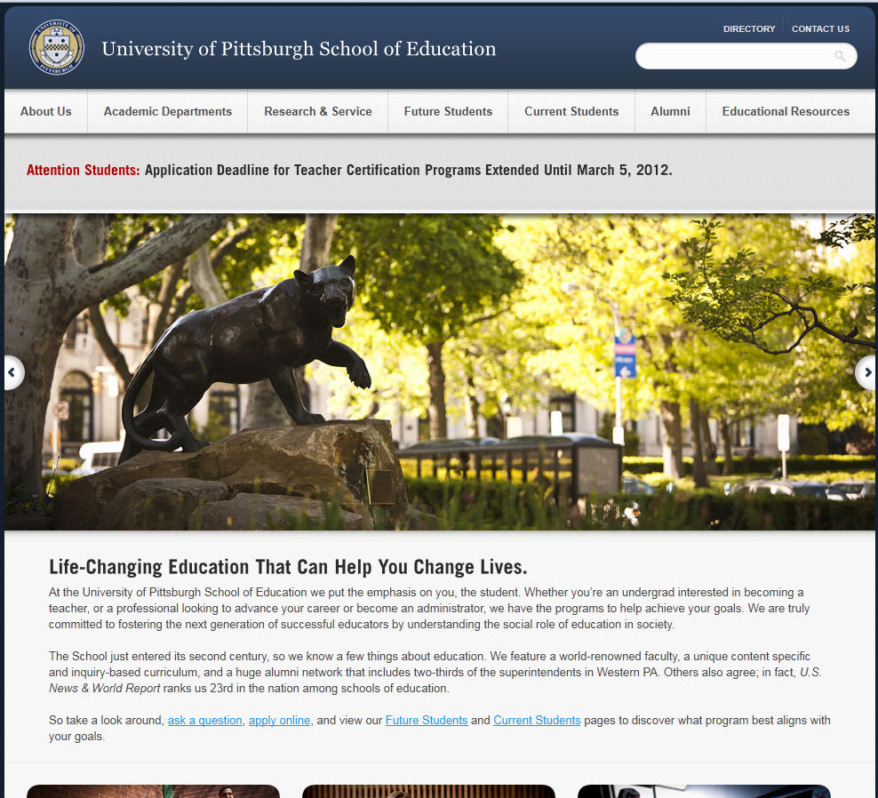 University of Pittsburgh School of Education