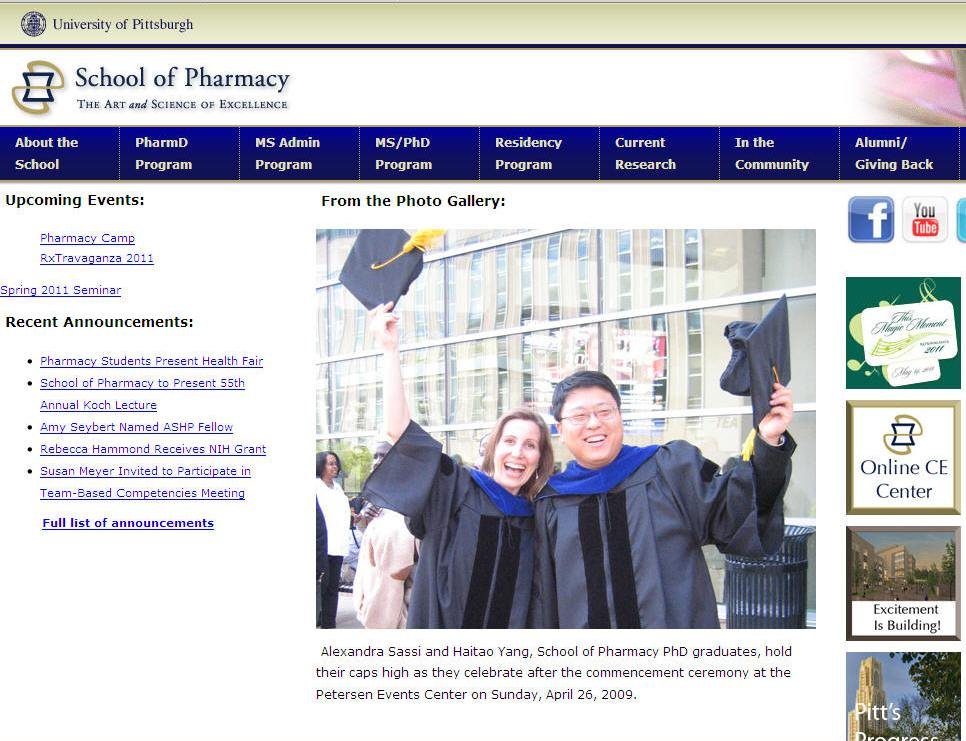 University of Pittsburgh School of Pharmacy