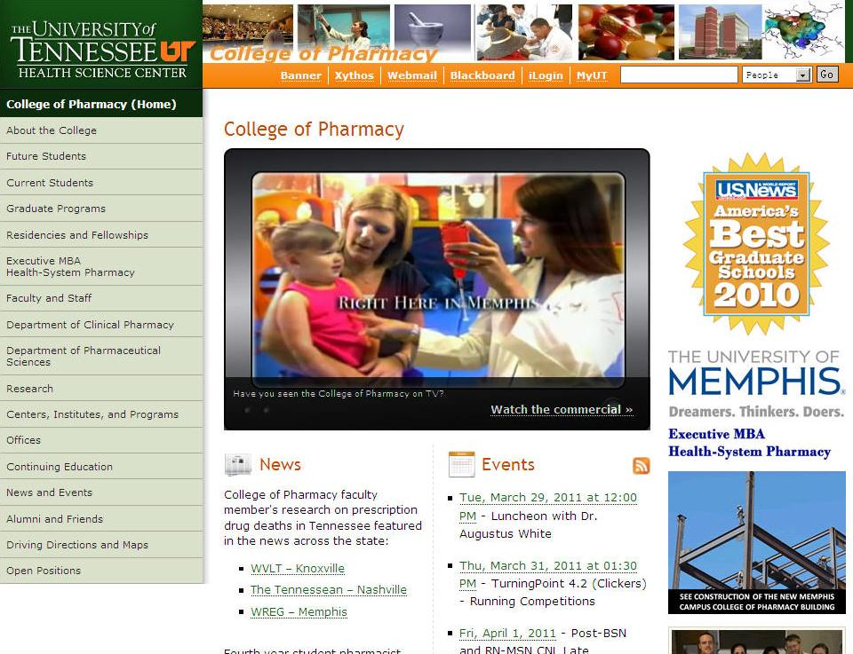 University of Tennessee Health Science Center College of Pharmacy