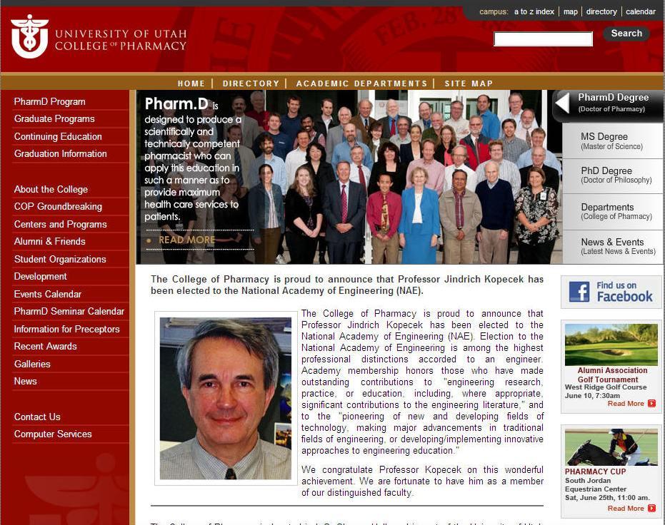University of Utah College of Pharmacy
